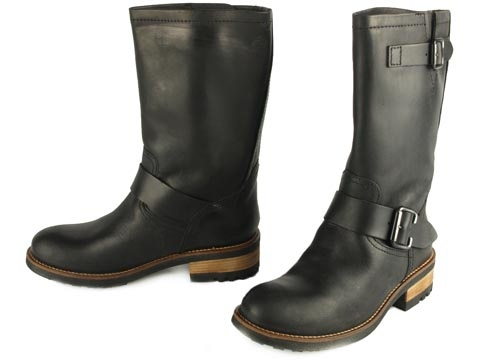 Bullboxer Leather Biker Boots, size 39/40. 40 euros
