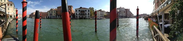 View of the Grand Canal in Venice from our Hotel Principe #monogramsvacations #budgettravel #pinittowinit