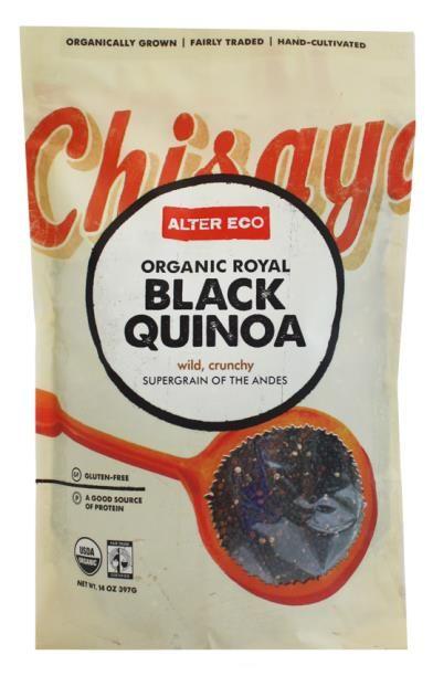 Alter Eco, Organic Royal Black Quinoa, 14 oz (397 g) - iHerb.com