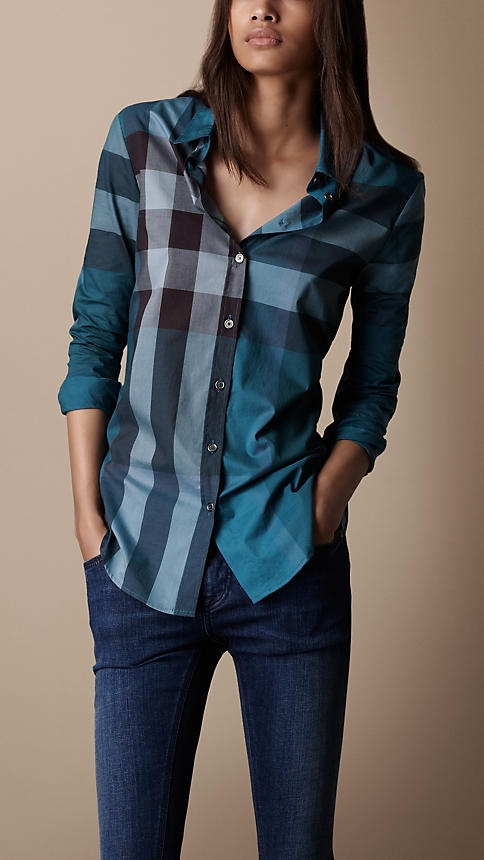 Burberry Brit Check Cotton Shirt