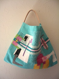 patchwork/hand embroidered bags, made in japan イメージ画像