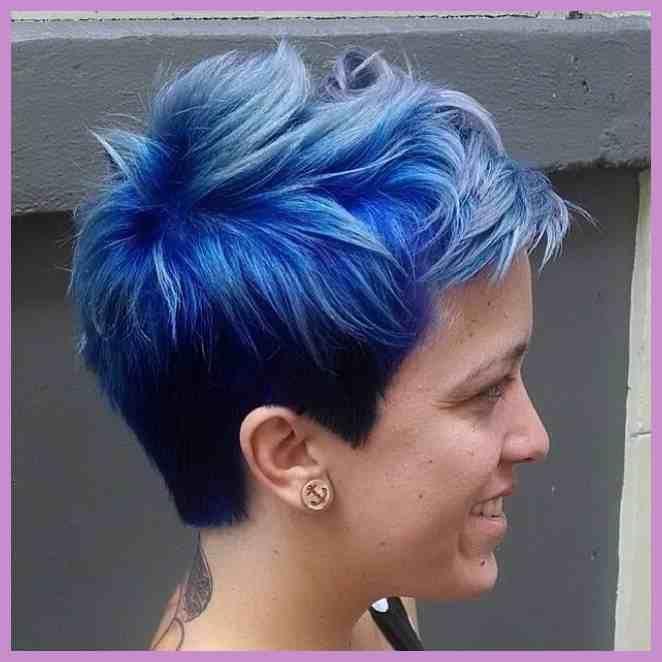 Hair Blaue Haare Kurze Blaue Haare Bunte T75 Es Gibt Ideen