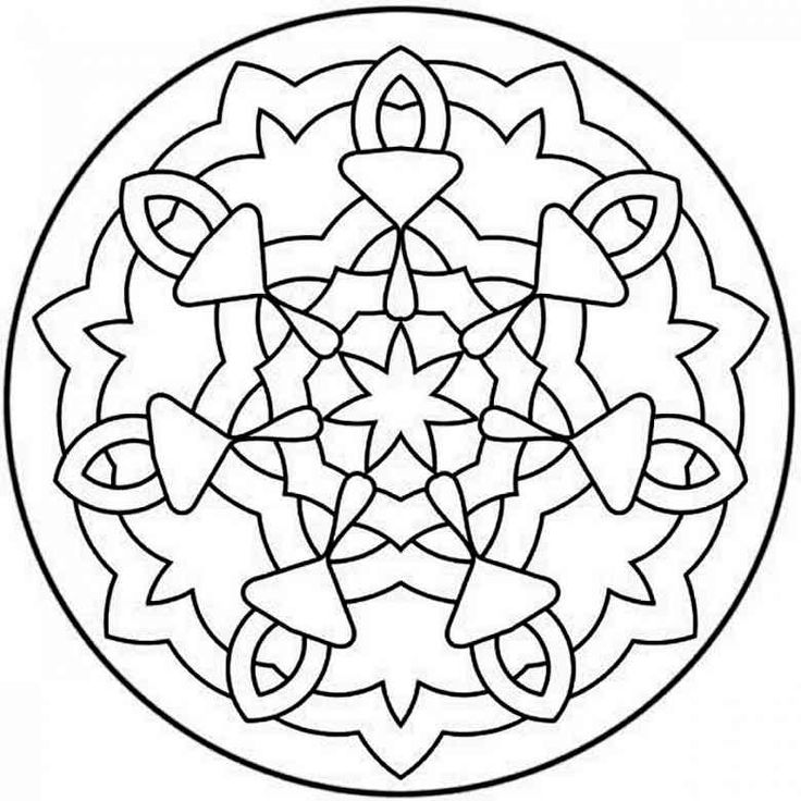 Mandala Coloring Pages Printable For Adults