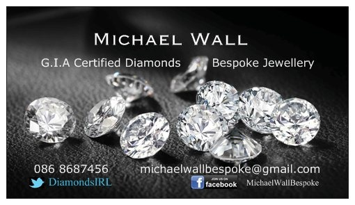 Michael Wall Bespoke Diamonds are sponsoring our Nurse Jobs Ireland  Celebtate Nurse our every day Heros (http://michaelwall.ie/) For more info on our event see www.nursejobsireland.com