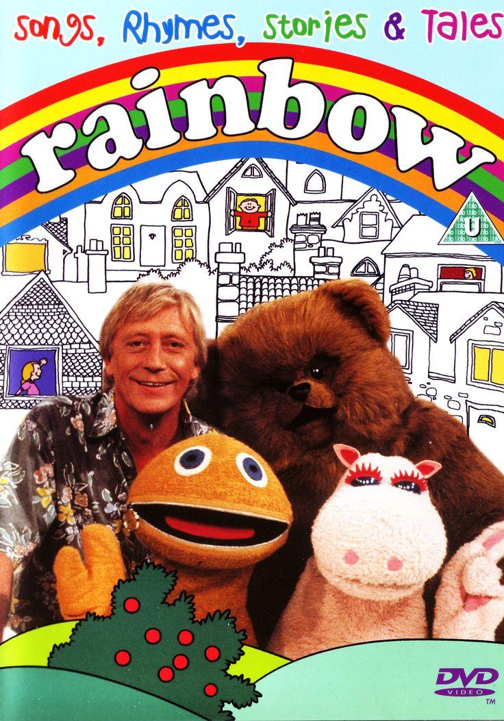 Paint the whole world with a Rainbow!!!... Zippy, George, Bungle & Geoffrey.