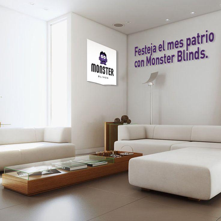Festeja el mes patrio con Monster Blinds. #monsterblinds #decoracion #estilo #casa #hogar #persianas #blinds #design #interiordesign #remodela #colores #formas #texturas #mespatrio #independencia #mexico