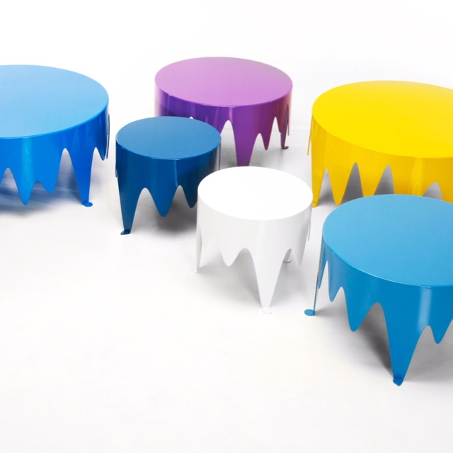 """blob"" table. Powdercoated Steel."