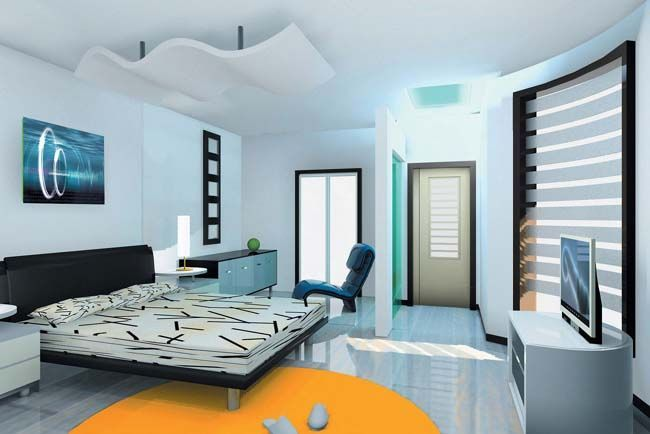 Cool small new home designs in india taken from http - Interior design for bedroom in india ...