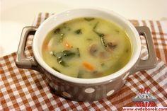 Mantarlı Sebze Çorbası