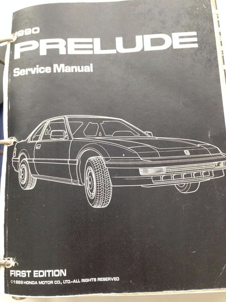 the 24 best a mechanics bookshelf images on pinterest manual rh pinterest co uk 1990 honda prelude owners manual 1991 Honda Prelude