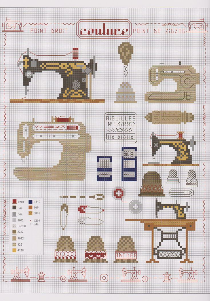 sewing machines: