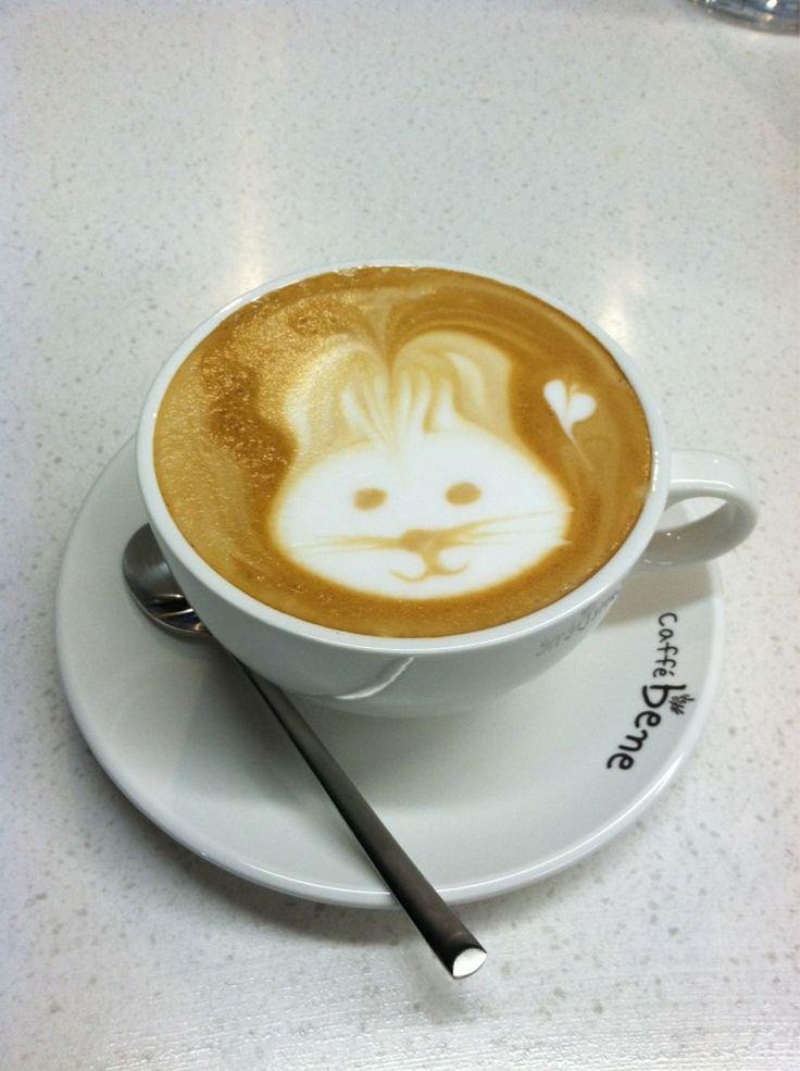 Cafe Bene #Koreatown Caffe latte   Yelp