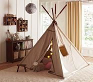 TepeeKids Playrooms, Plays Spaces, Kids Tents, Plays Tents, Future Kids, Pottery Barns, Studios Room, Toys Room, Kids Toys