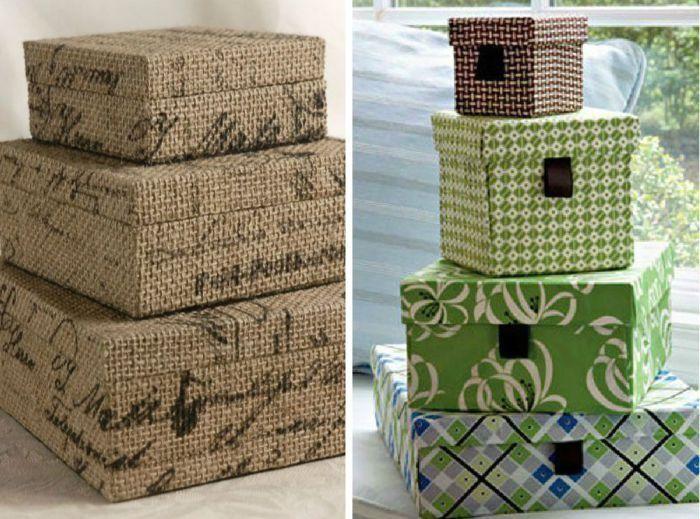 После шоппинга остаются не только приятные эмоции, но и картонные коробки из-под обуви и других аксессуаров.