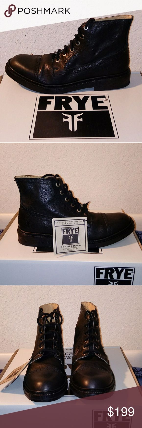 Frye Boots Brand new, never worn Frye Mens boots. Frye Shoes Boots