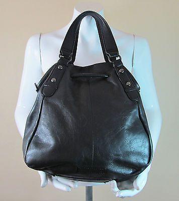 Rocha John Rocha at Debenhams black quality thick leather handbag purse R14900 #style #fashion #love #woman #chic #follow #eBay #handbag #sangriasuzie