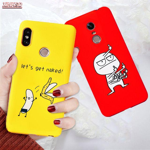 Soft Tpu Silicon Case For Xiaomi Mi A1 5x Mi A2 6x Pocophone F1 Redmi 5 Plus Note 5 Pro Cases Black Simple Scrub Soft Back Cover Revie Case Silicon Case Xiaomi