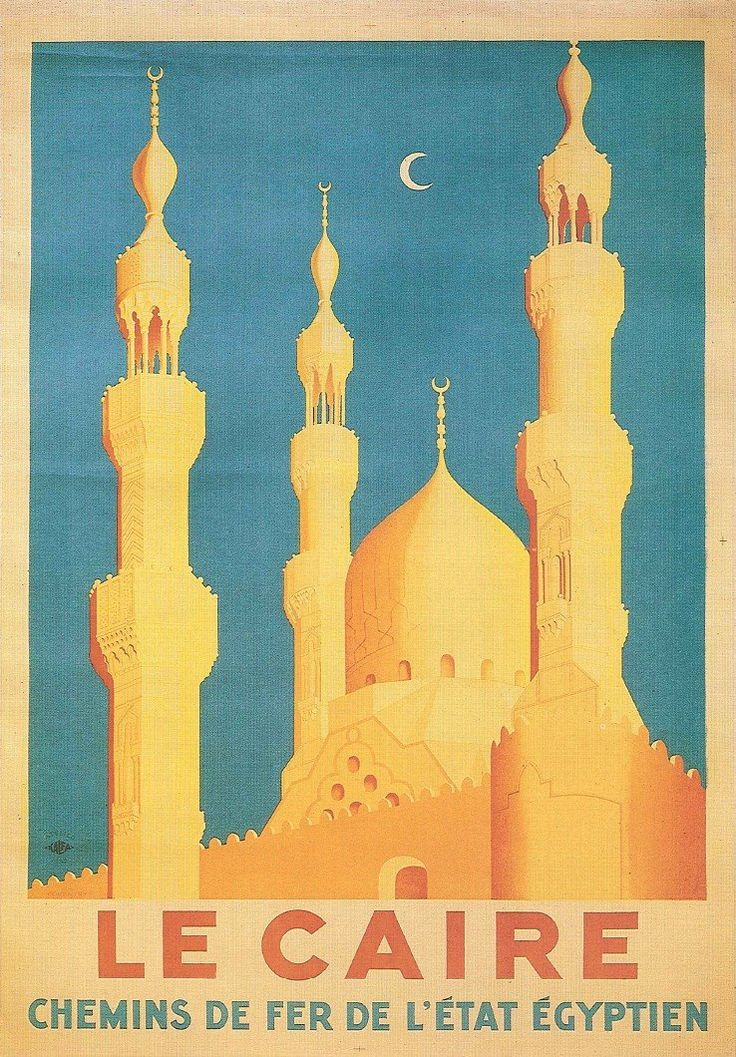 Vintage Travel Poster: Vintage Posters, Travelposters, Picture-Black Posters, Le Cair, Vintage Wardrobe, Travel Tourism, Travel Tips, Cairo Egypt, Vintage Travel Posters