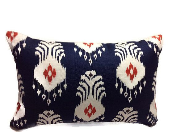 Blue Pillows Nate Berkus Pillows Throw Pillow Covers by DEKOWE