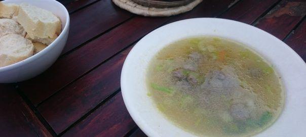 Recept: groentesoep op basis van zelfgemaakte runderbouillon