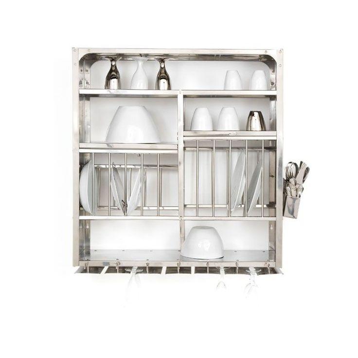 Égouttoir à vaisselle design pour votre cuisine par Tsé-Tsé. Amène une touche industrielle à votre deco de cuisine.