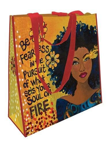 Soul On Fire ECO Shopping Bag by DDBProductions on Etsy