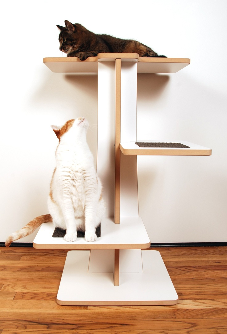Ecofriendly cat tower