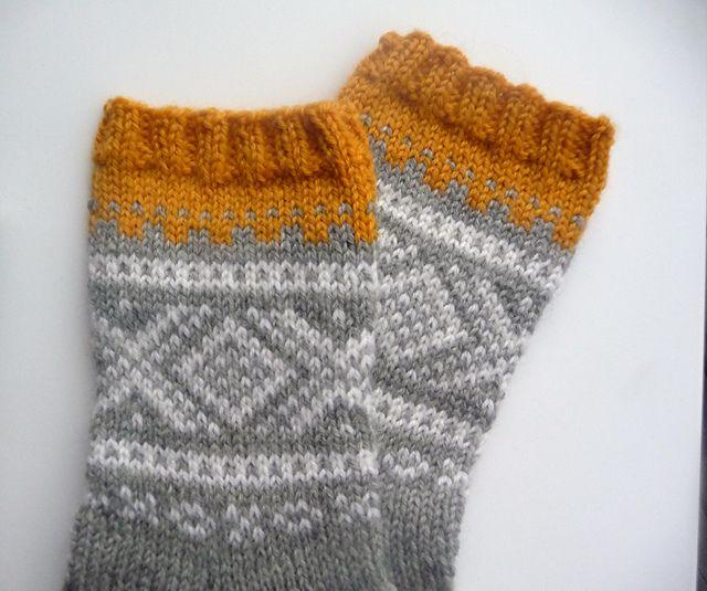 Marius-sokker by Unn Søiland Dale