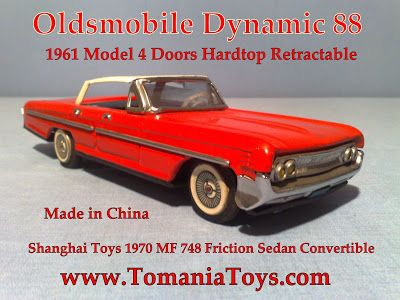 Oldsmobile Dynamic 88 Convertible Tom's Toy World TOMANIA