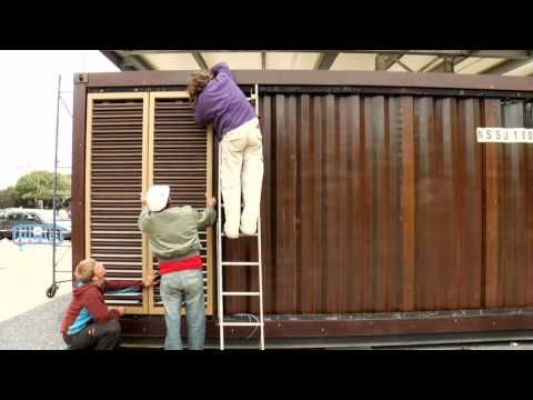 Build a Container Home - German Solar Container House