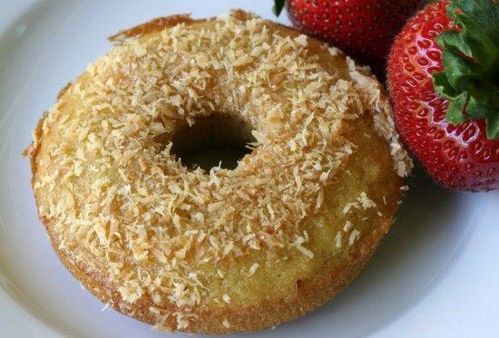 Coconut flour doughnuts #food #paleo #doughnuts #coconutflour