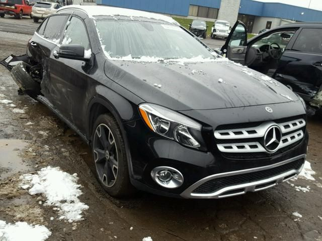 Salvage 2018 Mercedes Benz Gla 250 4matic Dm Us For Details