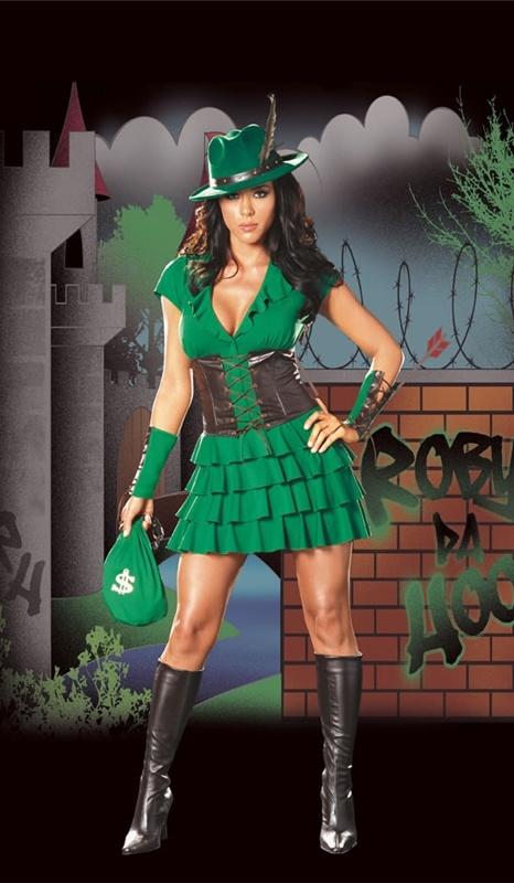 Robyn Da Hood Adult Costume #sexy womens costumes #sexy halloween costumes