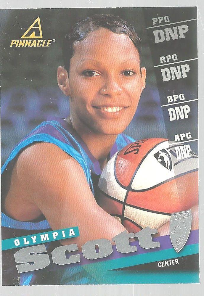 Olympia Scott Basketball Pinnacle WNBA Center 1999 #57 Stanford  #doesnotapply