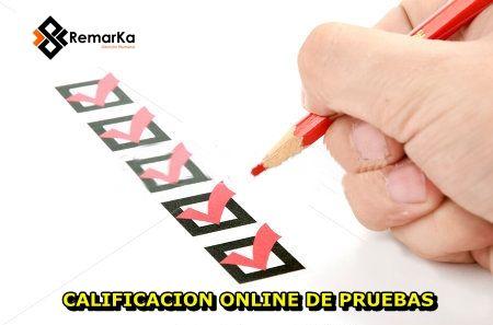 Calificacion Online de Pruebas en Remarka Sas www.remarka.co