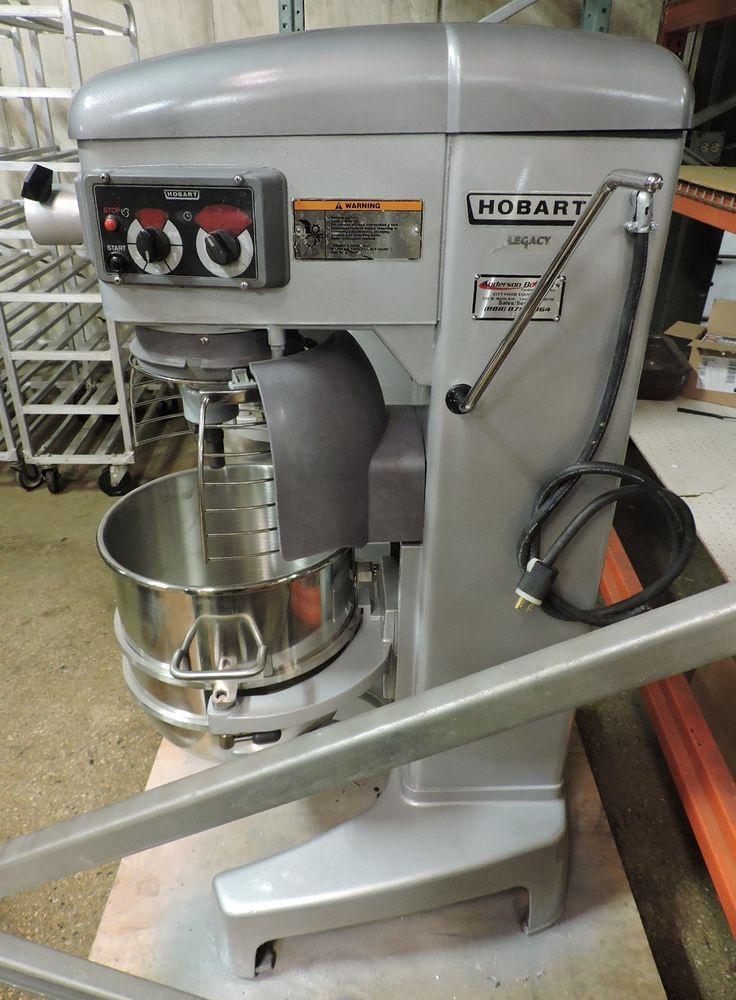 Hobart Legacy Hl400 Commercial 40 Qt Mixer W 3 Attachments Bowl Guard Hobart Restaurant Equipment Hobart Mixer
