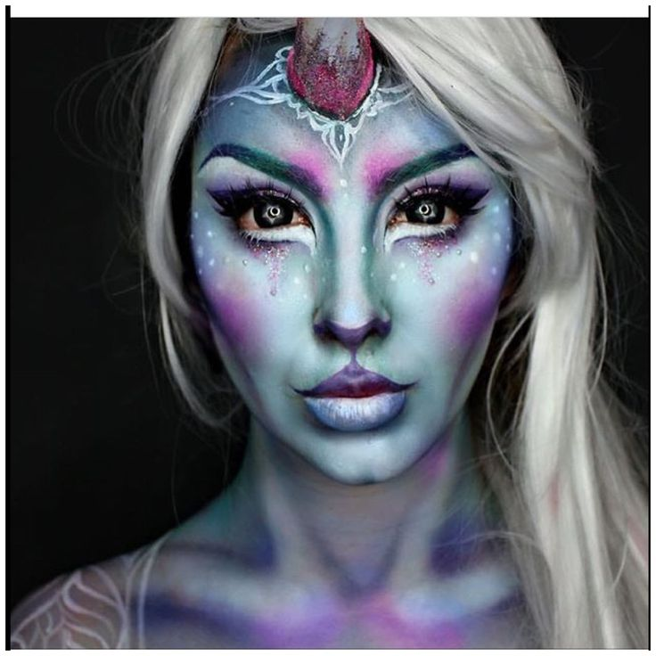 Pin Lle Noor Face Painting Makeup