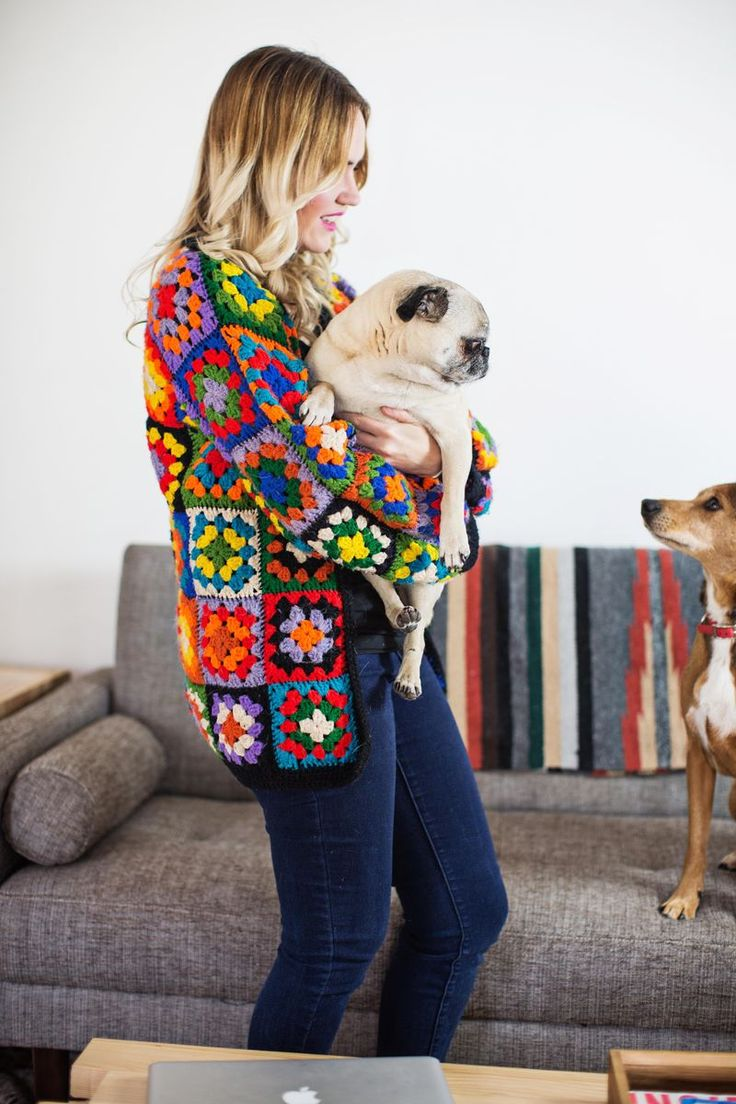 I feel like i need this granny square sweater