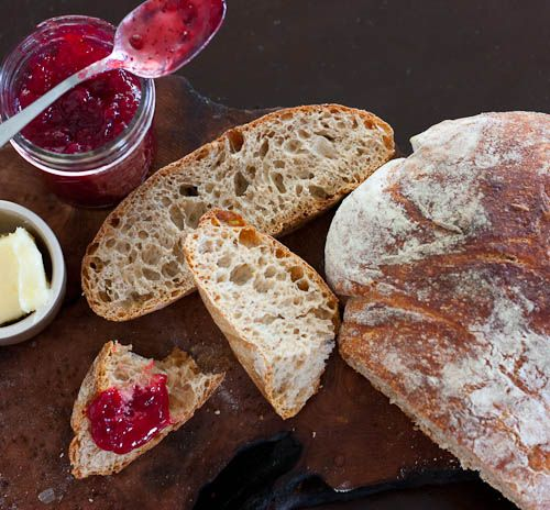 Rustic Whole Wheat Bread (no knead and bake in dutch oven) I need to try this whole wheat version. I also want to try making olive bread this way.