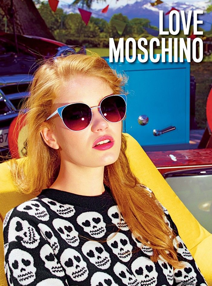 Hollie-May Saker for Love Moschino S/S 2015 Campaign