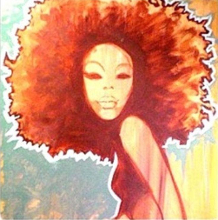 African American Natural Hair Art