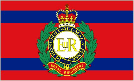 Corps of Royal Engineers Camp Flag