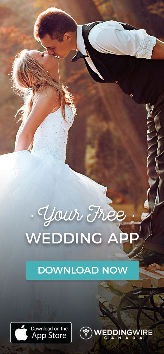 Getting Married soon? Plan your Wedding Easily and Quickly with the WeddingWire Canada free App and Discover More than 10,000 Vendors & Planning Tools!