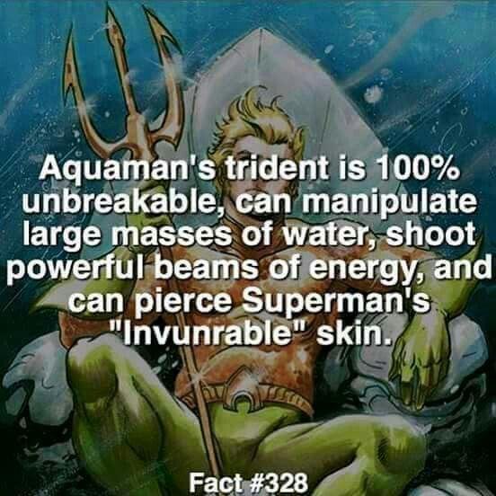 Fuck yeah, Aquaman                                                                                                                                                                                 More