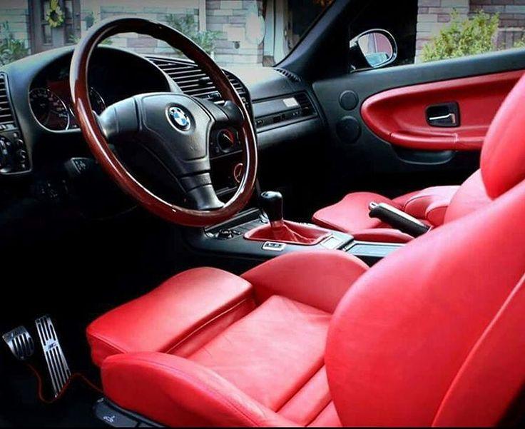 Bmw e36 red interior bimmer bimmerlove black for Bmw e36 interior