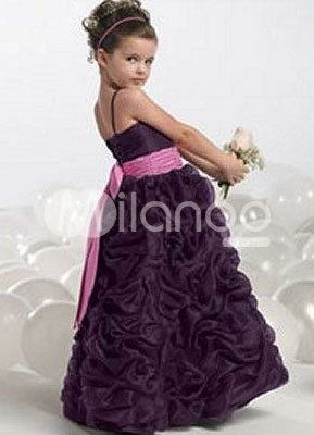 Robe de cortège Flower Girl Dresses $57