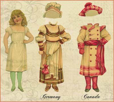 antique paper dolls: Paperdolls 23, Aankleedpopjes Paperdolls 18, Vintage Paperdolls, Paper, Paperdolls The, Vintage Paper Dolls, Paper Dolls Antique Vintage, Art Dolls, Antique Paper