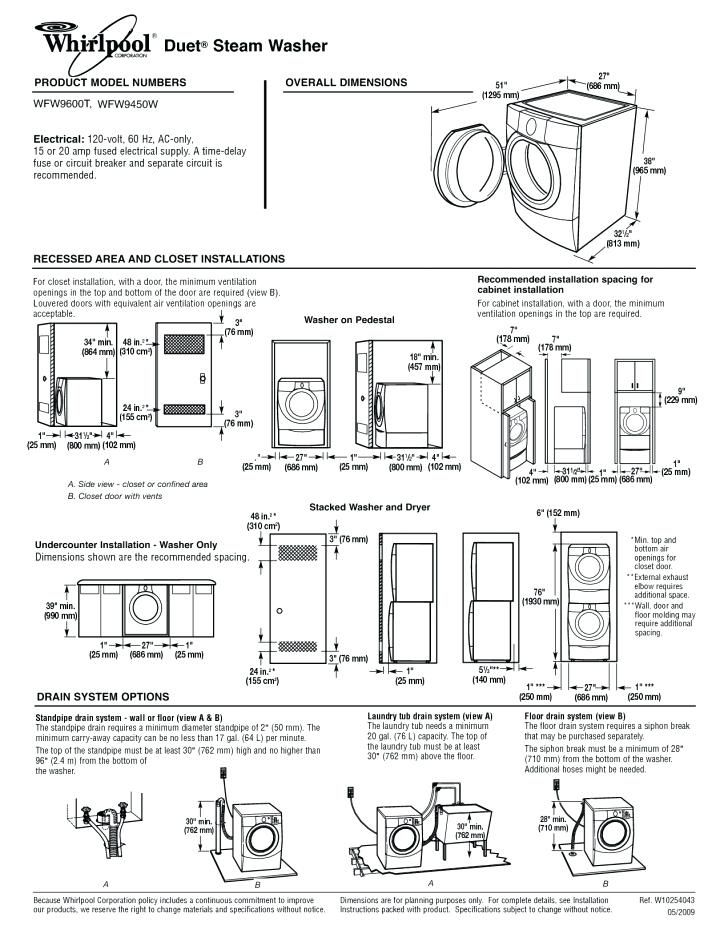 Stackable Washer Dryer Closet Stackable Washer Washer Dryer