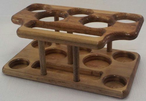 8 Piece Stained Pine Table Caddy - Ketchup Mustard Salt Pepper Utensils Napkins Holder by Mile 9's Kitchen Line. $49.95. CNC machined, hand sanded, hand finished & Made in the USA!. Not sold in stores... Why not? Because we want YOU to have 1st dibs on one! So BUY NOW! (...before everyone else finds out about these). Great for: camping, RV, picnics, lake cabin, back yard grilling, parties & events. Also makes a great gift!. WHAT A GREAT IDEA! Everything you need at your table o...