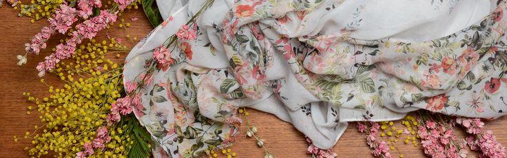 Eén sjaal, 5 stijlen / One scarf, 5 styles